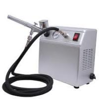 Quality Portable Auto Start Airbrush Tattoo Kit with Tanning Gun and Black Air Hose for Body Art for sale