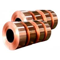 Quality Electronic Copper Strips , Long Length Copper Tape For Power Cable for sale