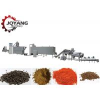 China Aquaculture Fish Feed Production Line Floating Fish Feed Manufacturing Machinery on sale