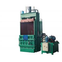 Quality Vertical Loose Materials / Waste Paper Baler Machine Larger Density Y82 - 200Q for sale