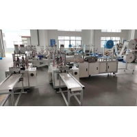 Buy cheap 9 KW 130 Pcs / Min 99% 3 Ply Mask Making Production Line from wholesalers