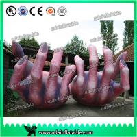 Quality Halloween Decoration Inflatable Skeleton Hand for sale