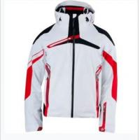 China Winter Mountaining snowmobile jacket with fur hoodies. on sale