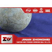 Quality Grinding Media Forged Steel Ball For Ball Mill Machinery , HRC 58-64 Breakage ≤1% for sale