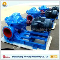 China heavy salted high capacity centrifugal split case water pump on sale