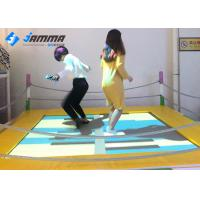 Quality Playground Interactive Floor Projection Games Trampoline 2.1 X 2.1M Easy Installation for sale