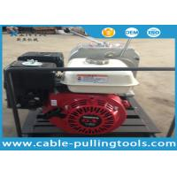 Quality 3 Ton Honda Gas Engine Powered Cable Pulling Winch Cable Winch Puller for sale