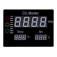 China Digital Wall Mount Indoor Air Quality Temperature Humidity RH 9999 PPM Carbon Dioxide CO2 Monitor Digital Meter Sensor on sale