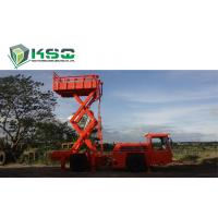 Buy cheap Underground Service Vechicles 1 Ton Scissors Lift Truck for Underground Mining or Tunneling Project from Wholesalers