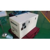 Quality 4 Pole Alternator 13 KVA Three Phase Diesel Generator With Sound Reducing Enclosure for sale