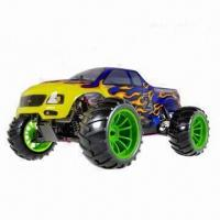 China HSP RC Truck, Tyrannosaurus 1/10th Scale, Nitro Off-road Monster Truck RTR on sale