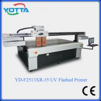 Quality 3D background wall printer/ceramic tiles uv flatbed printing machine for sale