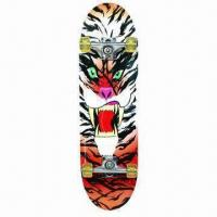 Quality China Maple Skateboard with PU Wheel and Aluminum Truck for sale