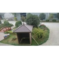 China Outdoor Environmental Prefabricated Homes Wood Plastic Composite Modern Pet House on sale