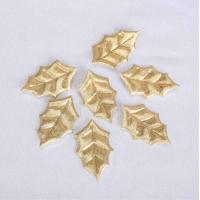 Quality Golden Kids Christmas Craft Gifts Simple Christmas Hand Crafts For Outside for sale