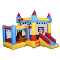Quality Colorful Inflatable Bounce House Castle With Plastic Ball For Kids Jumper for sale