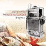 Quality 12 Mega pixels 4X digital zoom digital car waterproof hd camcorder 1080P , HDMI for sale