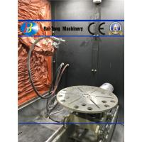 Quality CNC 8 Index Gear Shot Peening Surface Finish Machine Dust Exhaust <5mg/m for sale