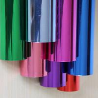 Quality Christmas Gift Colored Hot Stamping Foil Common Paper With Pressure Protection for sale