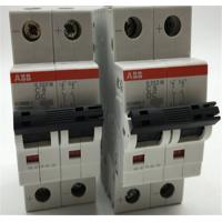 Quality S200 Series ABB Miniature Circuit Breaker 10kA MCB AC DC Applications for sale