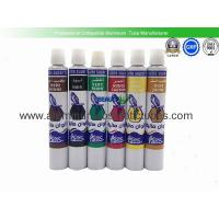 Quality Waterproof Aluminum Paint Tubes Silk Screen Printing Non - Reactive Nature for sale