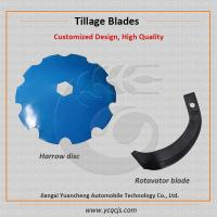 China John Deere Concave Power Harrow Disc Blade, Small Tractor Rotavator Blade on sale