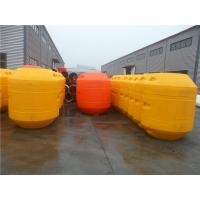 Quality bright yellow color plastic MDPE floaters anti-corrosion pipe floaters export to Australia for sale