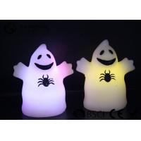 China Cute Ghost Shaped Halloween Led Candles Paraffin Wax Material HL-009 on sale