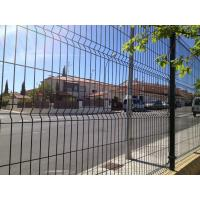 galvanized and pvc coated welded wire mesh fence nylofor