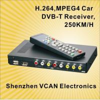 China DVB-T2010HD Car DVB-T set top box with 2 tuner and PVR on sale