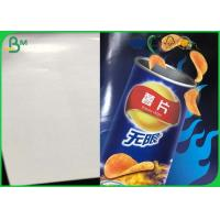 China High Saturation Food Grade Paper Roll 100% Virgin Wood Pulp For Noodles / Cup Paper on sale