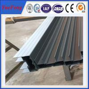 China 6000 series double glazed windows australian standard t-slot aluminum track on sale