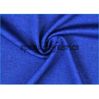 Navy blue quick dry polyester spandex space dyed fabric for Lycra space fabric