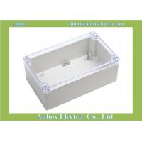 200*120*56mm ip65 weatherproof enclosures box with Clear Top