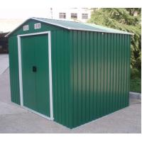 China DIY Apex Metal Shed Steel / Pent Garden Sheds / Carport Shed With Gable Roof 6x4 feet on sale