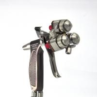 China Manual Three Head/Component Spray Gun 316 Stainless Steel for Nano/Chromeplating (H-S2-C3) on sale