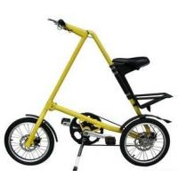 Quality Yellow / Red Light Alloy Bike 16 Inch Mini Foldable New Simple Design Folding for sale