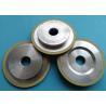 Ceramic Vitrified Bond Diamond Grinding Wheels Cylindrical High Efficiency for sale