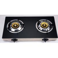 Quality Electric Ignition Table Top Gas Stove With Tempered Glass Panel for sale