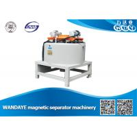Quality Automatic 3T Dry Magnetic Separator With Water / Oil Double Cooling for sale