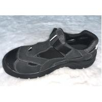 China Summer Lightweight Sandal Safety Shoes Grey Low Cut Work Shoes For Industry on sale