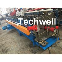 Quality 80m, 100mm Or 120mm Custom  Round Downspout Roll Forming Machine for Rainwater Downpipe for sale