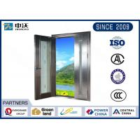 Quality Color Optional Stainless Steel Fire Rated Doors For High - Level Places for sale