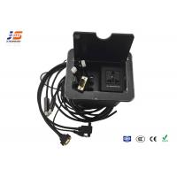 Buy cheap Tabletop Socket With Hdmi Vga cables, Audio Video Outlet Box For Office from wholesalers