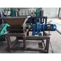 Buy cheap Tire Single Shaft Portable Industrial Shredder Quiet Operation For Rubber from wholesalers