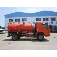 Buy cheap 10m3 Tank Capacity Special Purpose Truck / Sewer Vacuum Truck 16000 Kg Rated from wholesalers