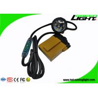 Quality Strong Brightness LED Warning Light , 3W Miners Cap Lamp 10.4Ah SAMSUNG Battery for sale