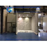 Quality Thermal Insulating Board Sandblasting Booth Dust Removing Efficiency 99.99% for sale