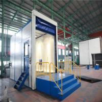 Quality Sand blasting machine: Blasting chamber/booth/room for sale