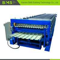 Quality Dual Layer Roofing Sheet Roll Forming Machine More Convenient ISO9001/CE for sale